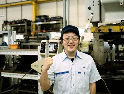製品部 プレス担当 2008年入社 K.M.さん