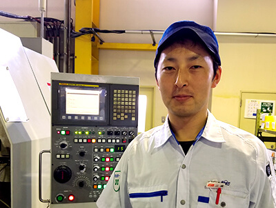 製品部 生産技術チーフ 2003年入社 S.Mさん