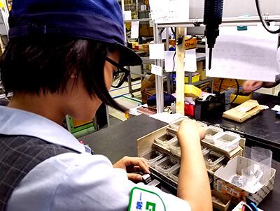製品部 組立担当 2016年入社 H.Iさん